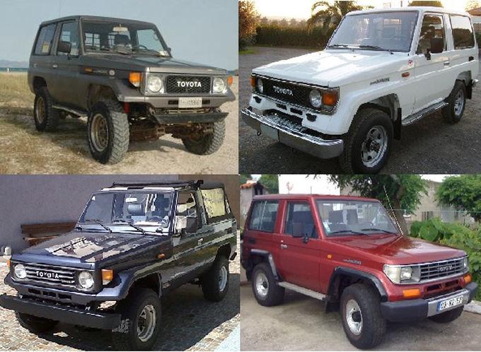 Toyota serie 70