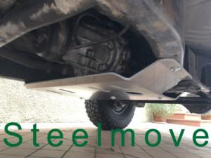 Piastra Cambio Patrol Y61 alluminio