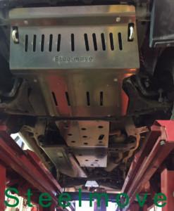Piastra anteriore cambio riduttore serbatoio differenziale alluminio 8 mm
