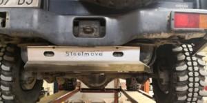Piastra serbatoio Pajero V20 3 porte alluminio 6mm