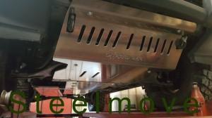 Piastra anteriore 8 mm alluminio
